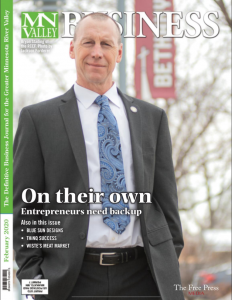 MN Valley Business Magazine Cover